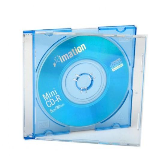 Mini cd 8cm Imation azzurro
