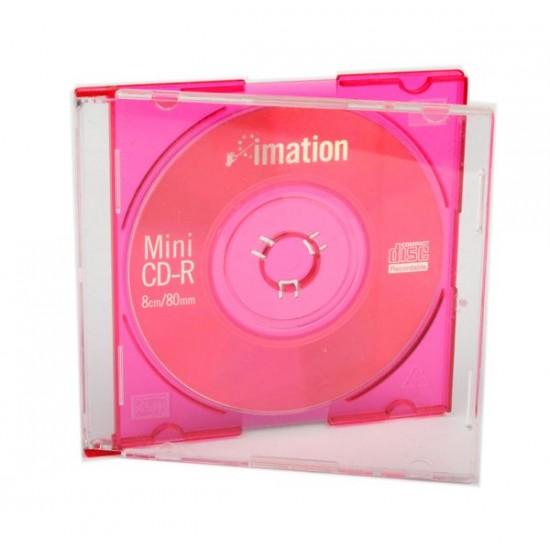 Mini cd 8cm Imation fucsia