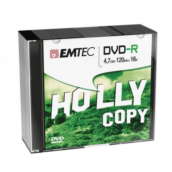 10 DVD -R 4,7gb Emtec