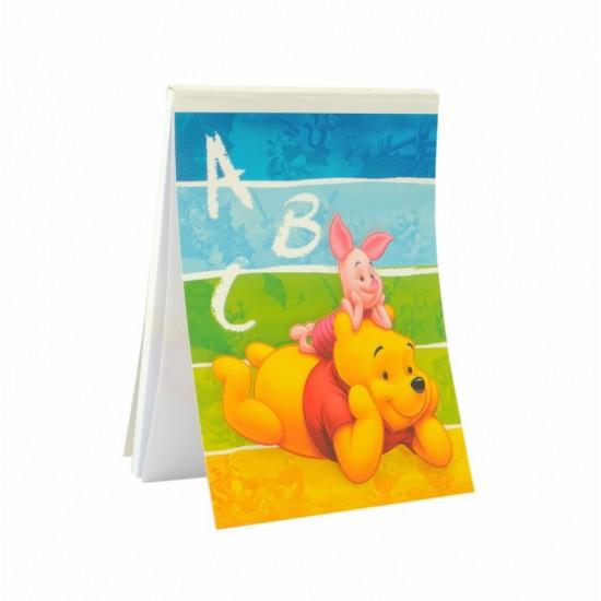 48 pz Block notes 75x105mm Winnie the Pooh
